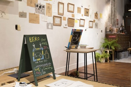 「台湾で写真展をひらいてみたら」ミヤギチカさんのイラスト展「BERO」が開催されていた